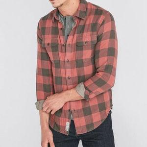 Lucky Brand Bufflo check workwear shirt